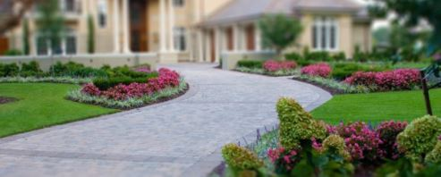 Commercial Landscaing service result. This photo was taken in Mesquite, TX.